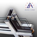 Profil en aluminium pour le cadre de mur rideau de construction