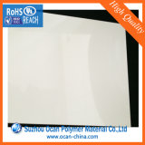 Pritningシルクスクリーンの印刷のための白い光沢のあるPVCシート