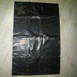Sacco di immondizia nero impaccante dei rifiuti