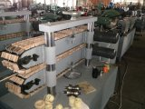 Tube flexible mécanique de boyau de pipe en acier faisant la machine