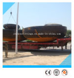 ASTMのバット溶接の炭素鋼A420 Wpl6の管の帽子
