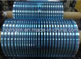 Fita de corte azul de revestimento laminada da folha de alumínio de Mylar da isolação da fita do poliéster da película
