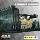114kVA 50HzはCumminsが動力を与えるタイプディーゼル発電機セットを開く