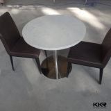 현대 둥근 단단한 지상 대중음식점 커피용 탁자
