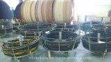 El alambre de acero tejido el manguito hidráulico cubierto caucho reforzado (SAE100 R2-16at)/el manguito de goma