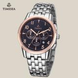 人のための方法ステンレス鋼のクロノグラフの腕時計