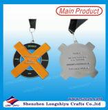 Medallas baratas plateadas oro de encargo del metal de la medalla del deporte
