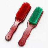 Alta qualità 23cm Green/Red Wood Brush Shoe Broom Brush