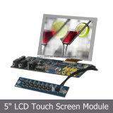 """도매 5 """" 끼워넣어진 PC를 위한 산업 LCD 디스플레이 모듈"""