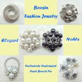 Причудливый декоративная имитационная конструкция Brooch перлы для венчания