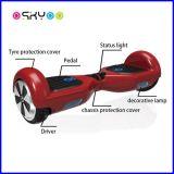 2つの車輪のスクーターのバランスをとっているスマートな自己