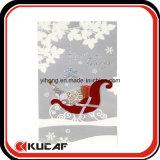 Zoll, der Gruß-Weihnachtskarten bildet
