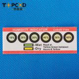 Tarjeta libre del indicador de humedad de Hic del cobalto de 6 puntos del amarillo al azul