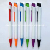 Witte Plastic Ballpoint (P1021A)