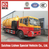 5000L High Pressure Suction Sewage Truck Highquality Pump Fecal Suction Truck für Sale