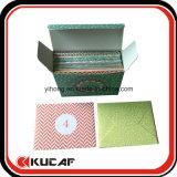 Diversas tarjetas de felicitación de las clases de la impresión de encargo con el embalaje del rectángulo