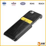 Geval het van uitstekende kwaliteit van de Telefoon van de Portefeuille van het Leer, het Mobiele Geval van de Portefeuille van de Telefoon voor iPhone 6