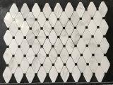 Bianco/ha lucidato i mosaici di marmo per le piscine/pavimenti/decorazione della parete/terra posteriore della villa Decoration/TV