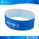 Bracelet médical d'identification Nfc de papier d'art de puce en gros de fréquence ultra-haute
