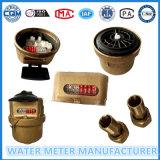 Medidor de água de bronze, tipo Volumetric medidor de Kent de água