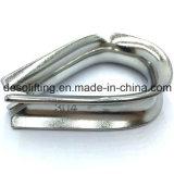 中国の工場からのステンレス製ワイヤーロープの指ぬき