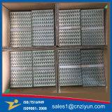 Hölzerner Aufbau galvanisierter Stahlverbinder