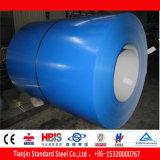 Le PE bleu de saphir de Ral 5003 a enduit la bobine en acier PPGI