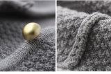 Cardigan d'usure de gosses de vêtement d'enfants de laines de 100% pour des filles