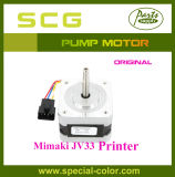 Original do motor da bomba da tinta do motor da impressora de Mimaki Jv33