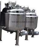 Alimentos de acero inoxidable de grado eléctrico Calefacción Farmacéutica tanque de mezcla