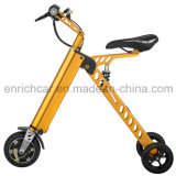 3 Räder beweglicher faltender E-Roller