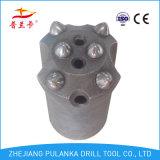 36mm, 40mm, 42mm 6 boutons 7degree, morceau de foret de roche de garniture intérieure
