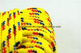 Corde tressée de bourrage 6mm de tissu non-tissé de polypropylène