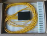Qualtiy FTTH 1X16 Optical Splitter 또는 Fiber 높은 Optical ABS Box PLC Splitter