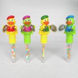 おもちゃ(130801)が付いているおもちゃそしてキャンデーが付いているアヒルの狂気のおもちゃキャンデー