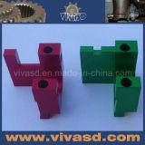 Части CNC подвергая механической обработке алюминиевые анодируют части