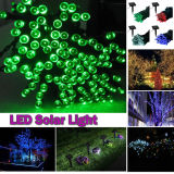 Luz solar de la cadena de 8 colores LED para la Navidad y los días de fiesta