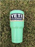 bottiglia variopinta d'argento inossidabile della tazza del Yeti della chiavetta del Rambler della tazza dell'automobile di 20oz 30oz 12oz