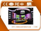 Alta visualización de LED de alquiler publicitaria a todo color de interior del alquiler P3.91 SMD del brillo