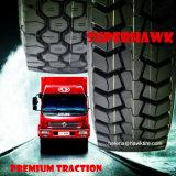 El neumático TBR de Superhawk cansa el neumático radial resistente del carro (11R22.5 12R22.5 315/80R22.5 295/80R22.5)