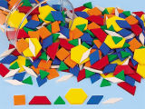 Pattern Blocks, DIY Toys, Educational Toys for School
