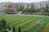 gramado artificial da grama da altura da pilha de 50mm para o futebol com boa drenagem