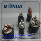 Tiefbau300 Sqmm 26kv kupfernes elektrisches kabel