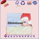 Bolsa de papel de la Navidad