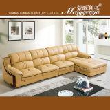 Migliore sofà superiore di vendita del cuoio di grano 2015 (868)