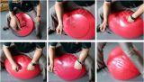 Demi de bille de yoga de forme physique de gymnastique de bille de massage de la forme physique No7-1 avec le logo
