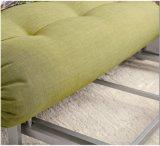 Base di sofà gialla del tessuto per uso della Camera (SB003)