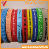 Promotional Gift (YB-LY-WR-20)를 위한 주문 High Quality Silicone Wristband