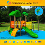 Quality eccellente New Design Small Outdoor Playground per Kids (HAT-016)