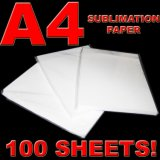 Polyesterのための45g Fast Dry Sublimation Coated Transfer Paper